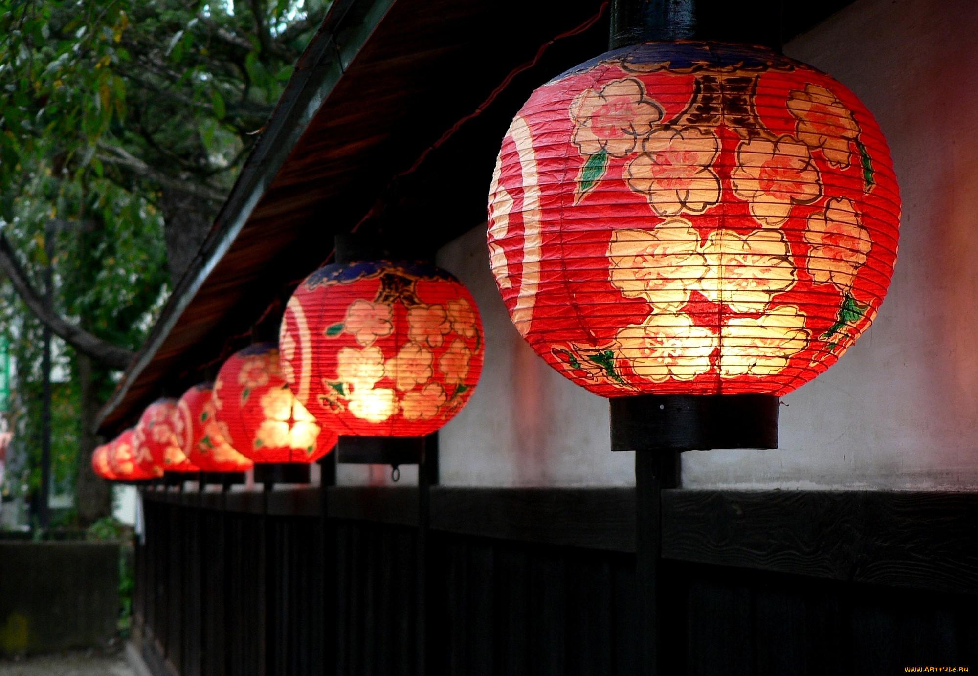 Как сделать японские фонарики своими руками видео